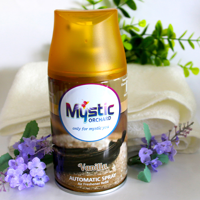 Air Freshener Refill Vanilla Scents 250ml MYSTIC ORCHARD