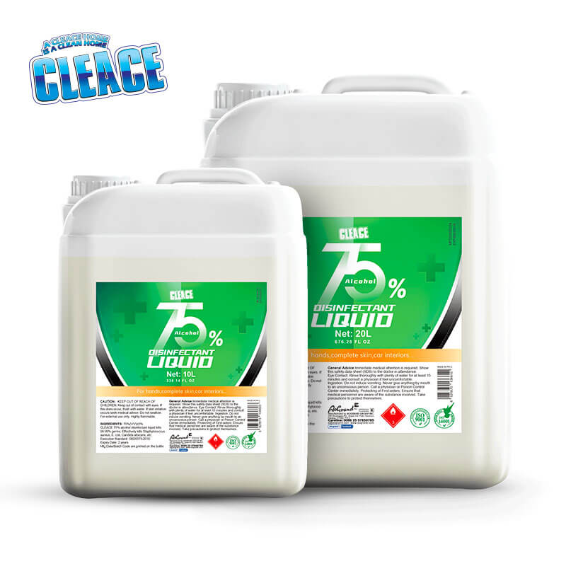 75% Alcohol Disinfectant CLEACE