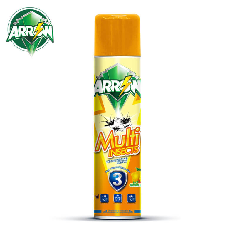 Insecticide Spray Natural Lemon Fragrance ARROW