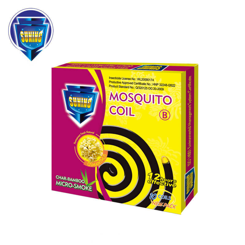 Micro-Smoke Mosquito Coil Char-Bamboo Osmanthus SUNING