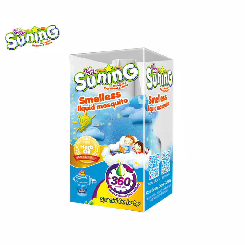 Smelless Mosquito Liquid For Baby & Kids SUNING