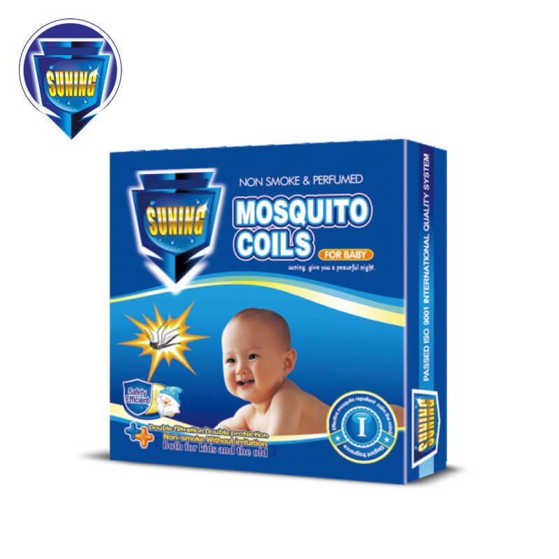 Non-Smoke & Perfumed Mosquito Coils Natural Safe Efficient For Baby & Kids SUNING