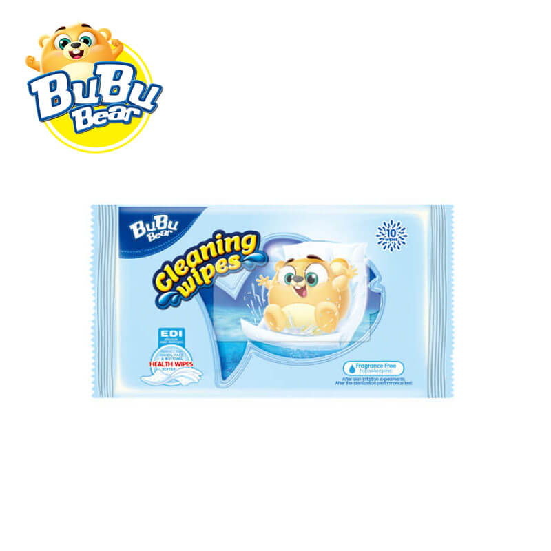 Cleaning Wipes Fragrance Free BUBUBEAR