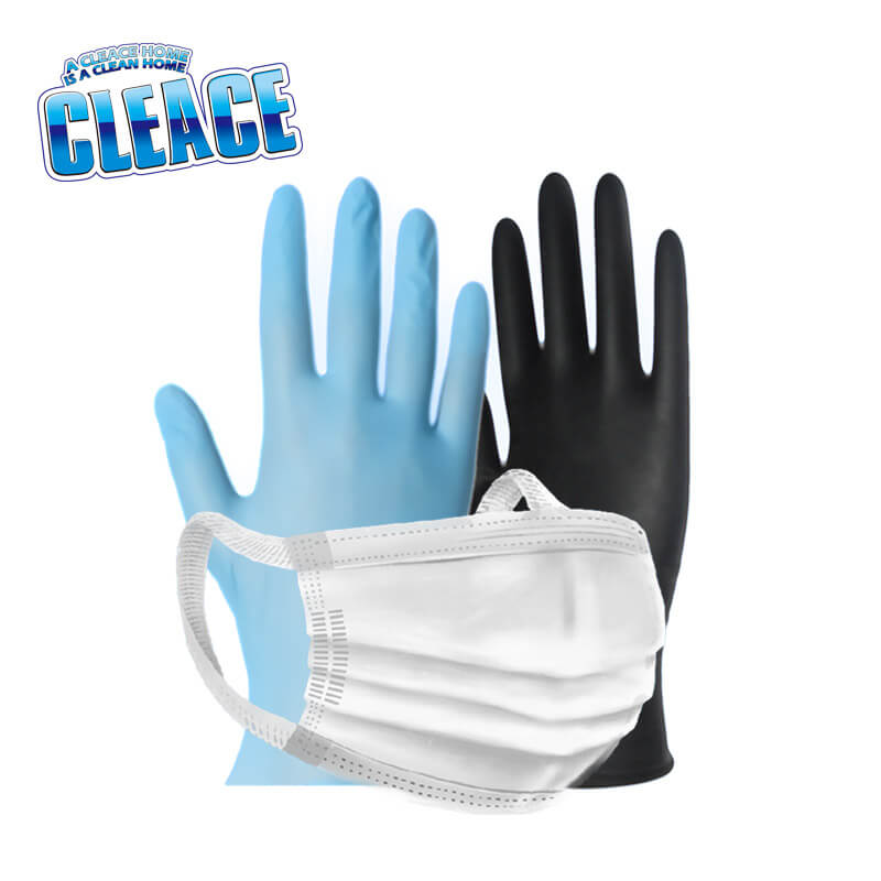 Face Masks & Nitrile Gloves CLEACE