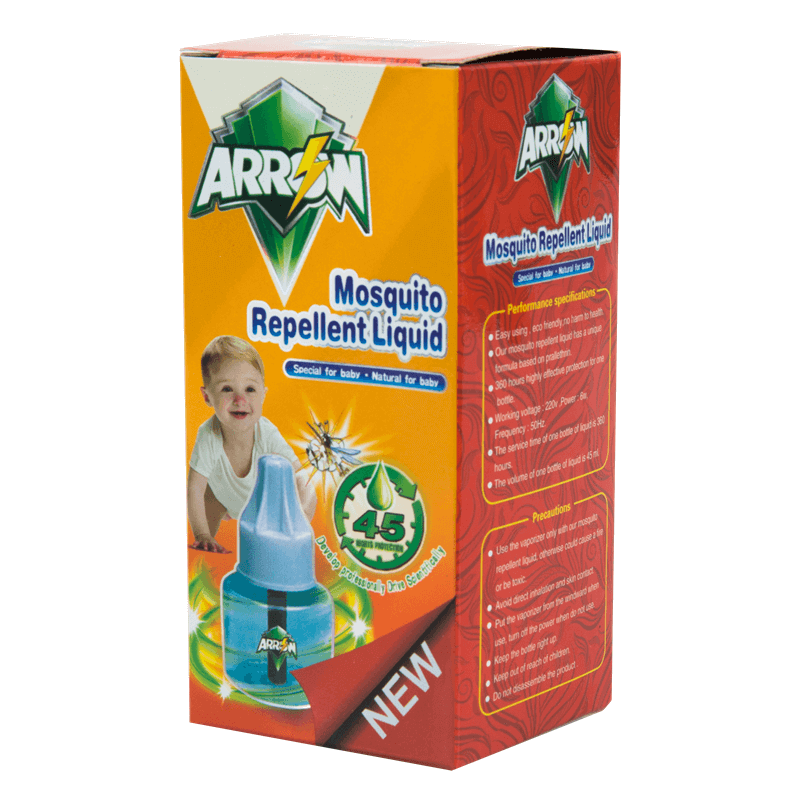 Mosquito Repellent Liquid Single Liquid Pack For Baby & Kids ARROW