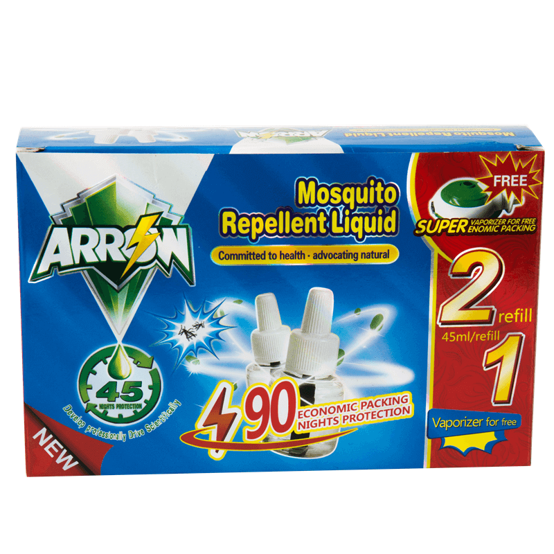 Mosquito Repellent Liquid Single Liquid Pack 45ml ARROW