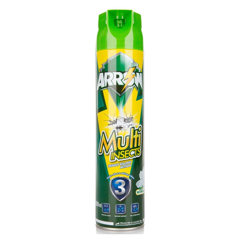 Insecticide Spray Natural Jasmine Fragrance 750ml ARROW