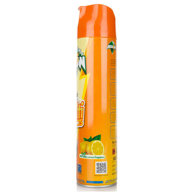 Insecticide Spray Natural Lemon Fragrance 750ml ARROW