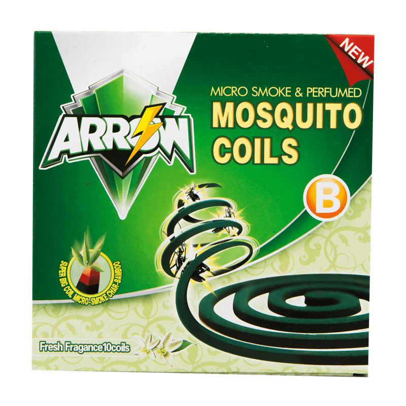 Micro Smoke Mosquito Coils Fresh Fragance Super Big B Arrow