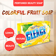 fruit perfumed beauty soap