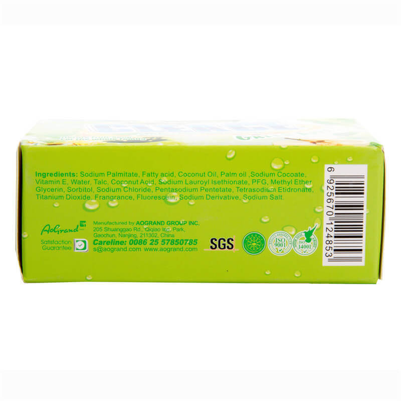 Green Apple Perfumed Beauty Soap 75g Box-Packed CLEACE