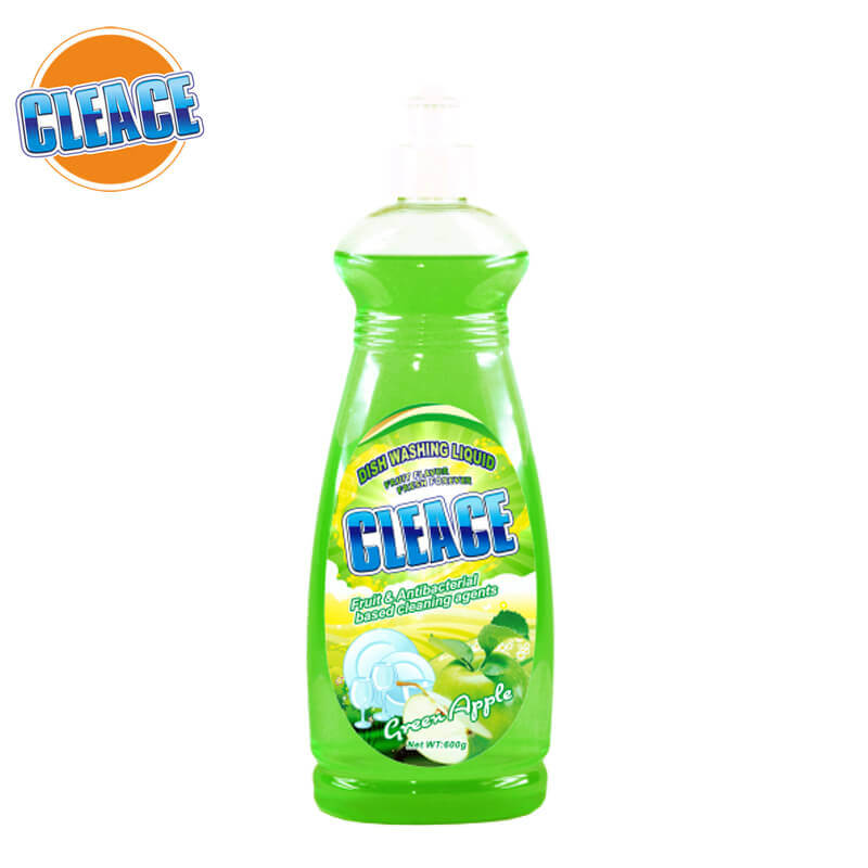 Dish Washing Liquid Green Apple Regular 600g CLEACE