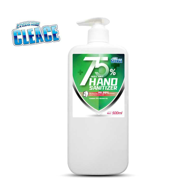75% Alcohol Hand Sanitizer 500Ml CLEACE