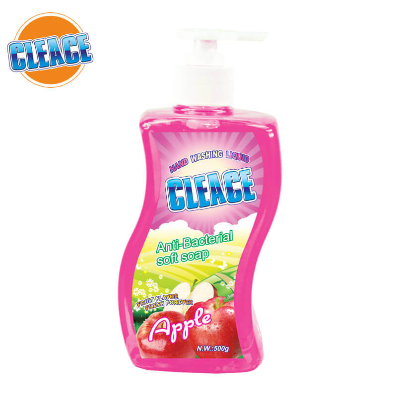 Hand Washing Liquid Apple 500g CLEACE