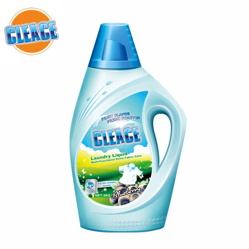 Laundry Liquid Multi-Functional Blueberry Perfumed 3kg CLEACE