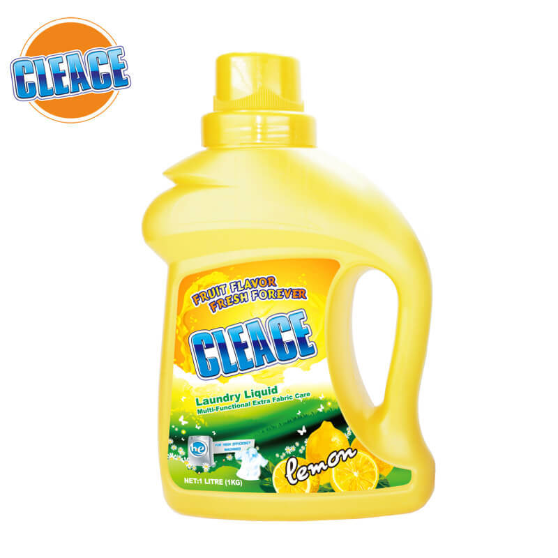 Laundry Liquid Multi-Functional Lemon Perfumed 1kg CLEACE