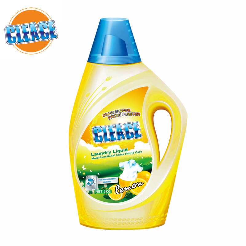 Laundry Liquid Multi-Functional Lemon Perfumed 3kg CLEACE
