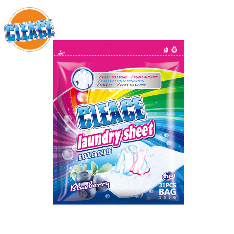 Laundry Sheet Blueberry Perfumed 31pcs CLEACE