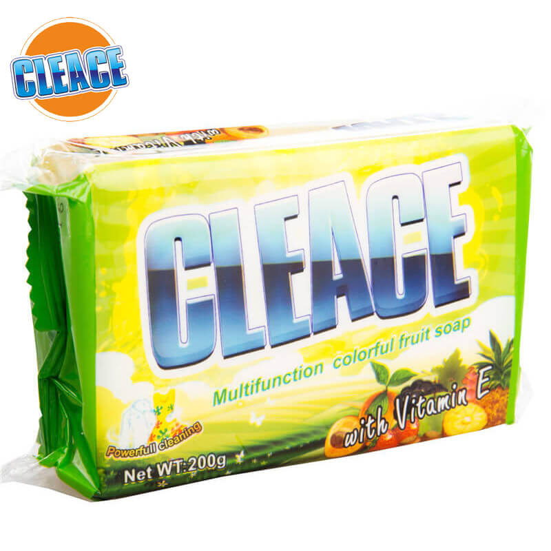 Double-Color Laundry Soap 200g CLEACE