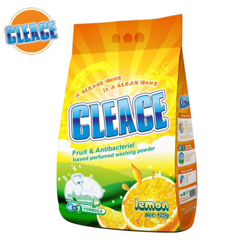 Washing Powder Lemon Perfumed 125g CLEACE