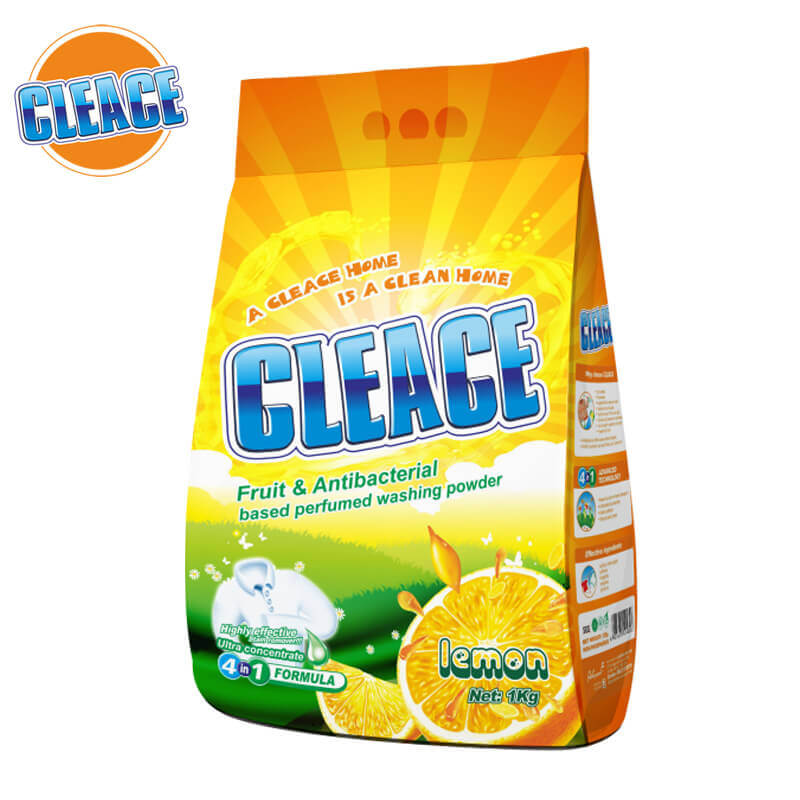 Washing Powder Lemon Perfumed 1kg CLEACE