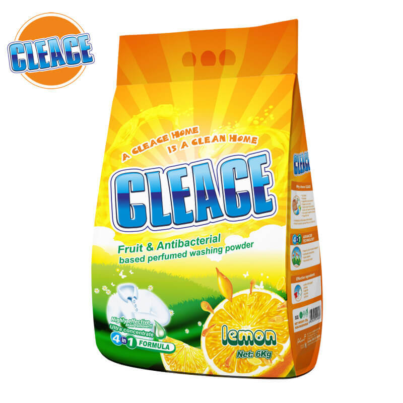 Washing Powder Lemon Perfumed 6kg CLEACE