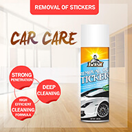 car care removal of stickers