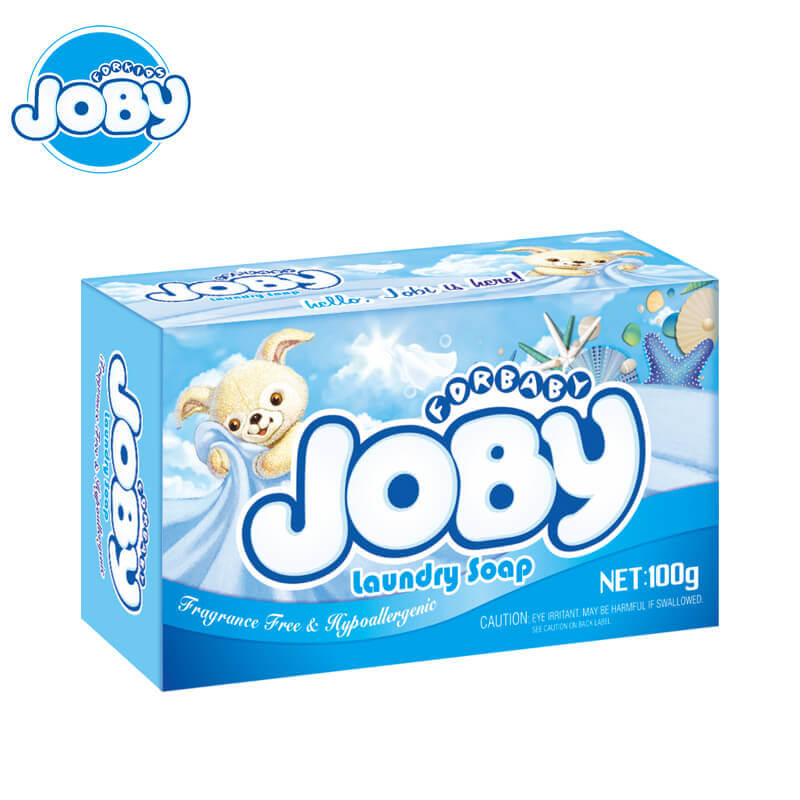 Laundry Soap Fragrance & Hypoallergenic For Baby & Kids 100g JOBY