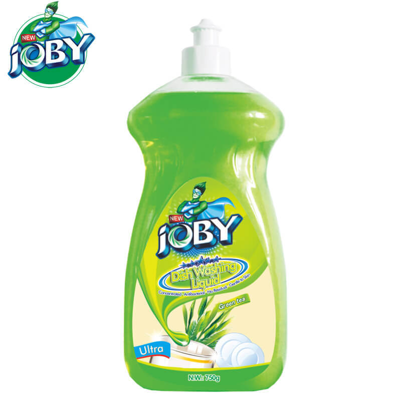 Dish Washing Liquid Green Tea Ultra 750g JOBY