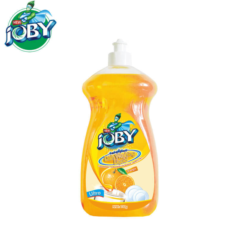 Dish Washing Liquid Orange Ultra 750g JOBY