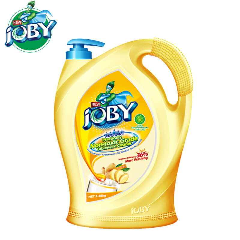 Non-Toxic Grade Tableware Cleaner Fresh Ginger 1380g JOBY