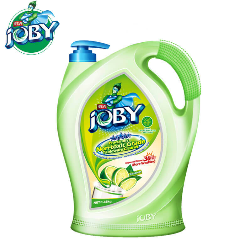 Non-Toxic Grade Tableware Cleaner Fresh Lemon 1380g JOBY