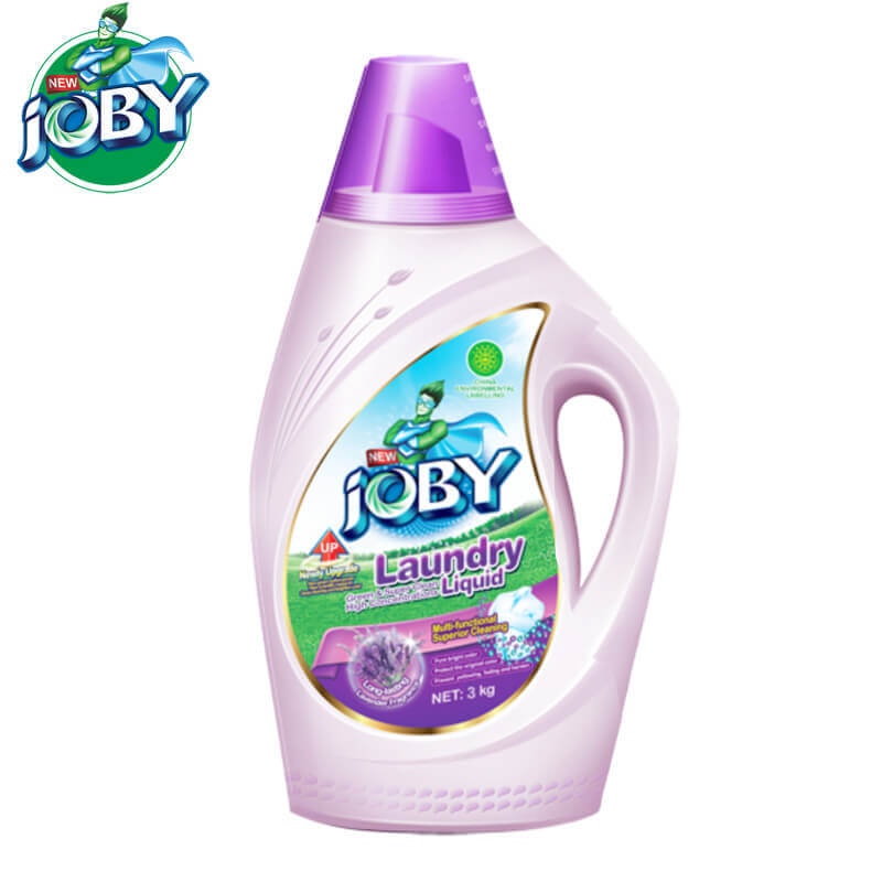 High Concentrated Laundry Liquid Lavender 3kg JOBY