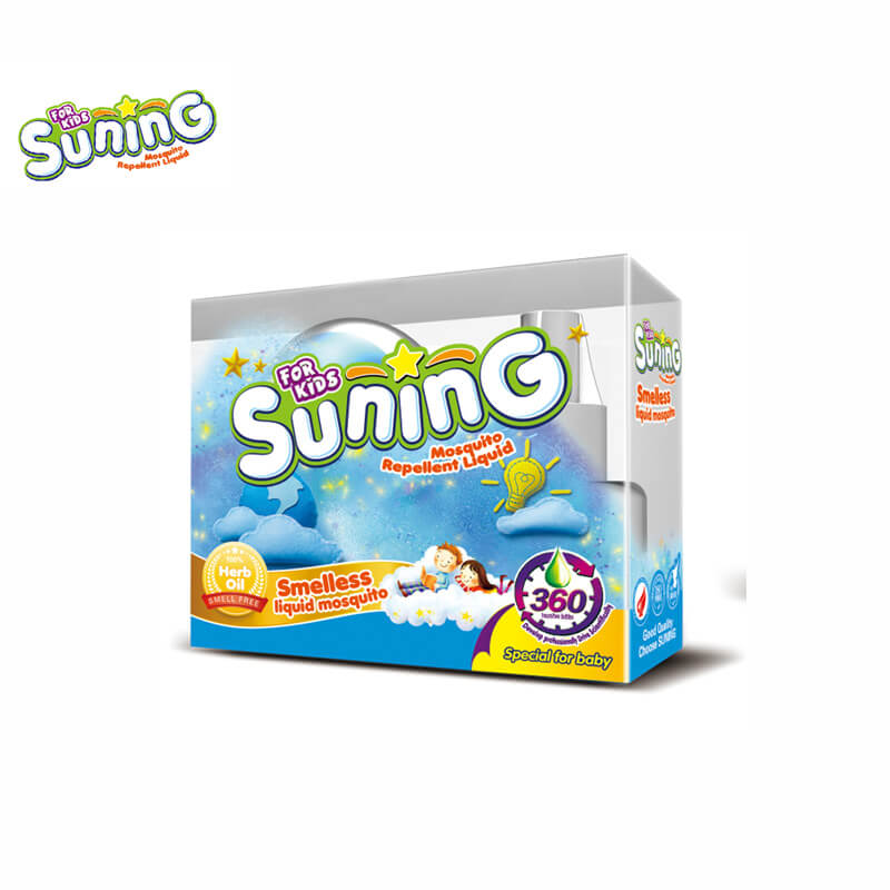 Smelless Mosquito Liquid And Vaporizer For Baby & Kids SUNING