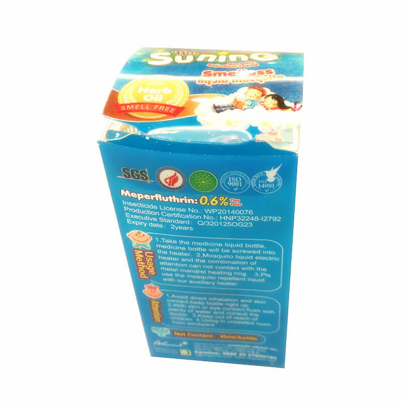 Smelless Mosquito Liquid Single Liquid Pack For Baby & Kids SUNING