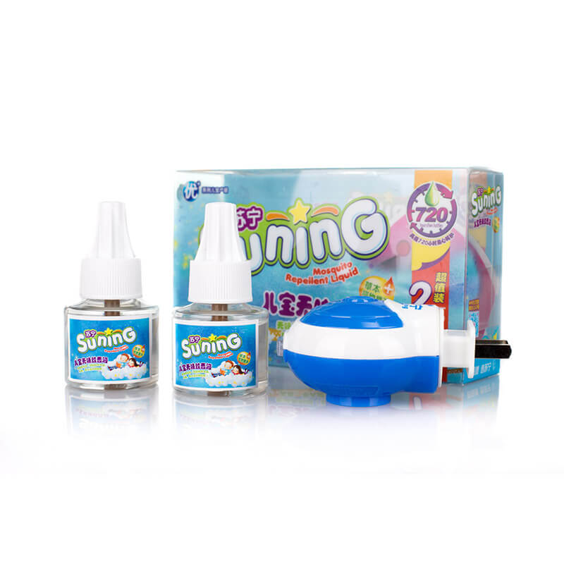 Smelless Mosquito Repellent Liquid Two Liquids One Vaporizer For Baby & Kids SUNING