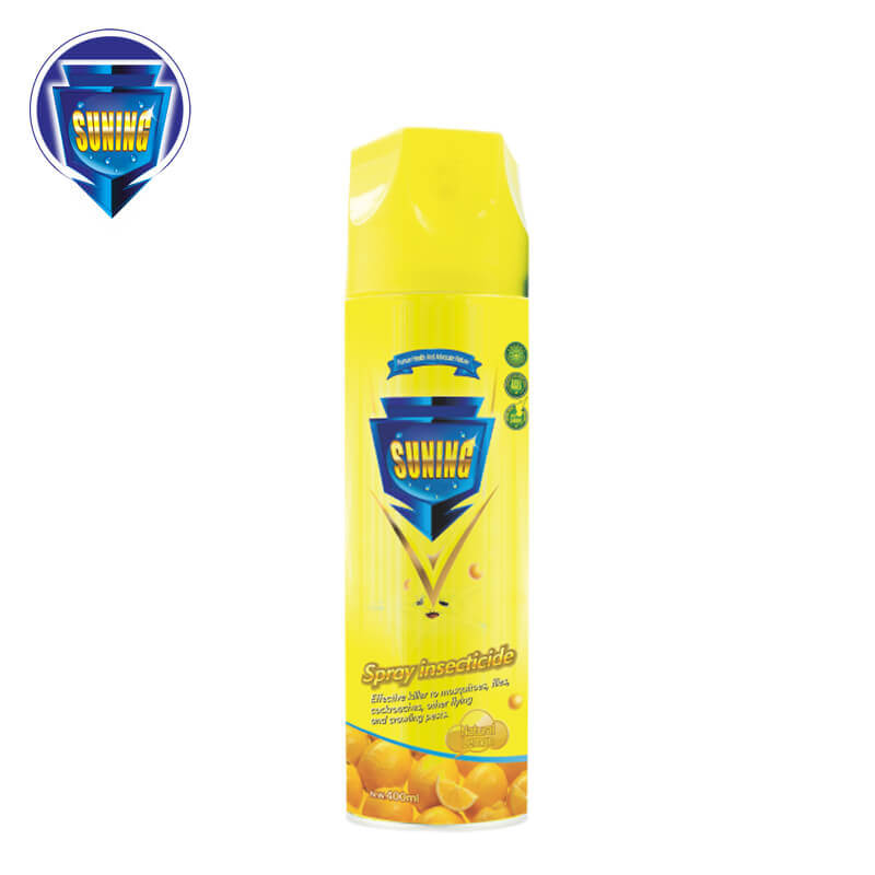 Insecticide Spray Natural Lemon 400ml SUNING