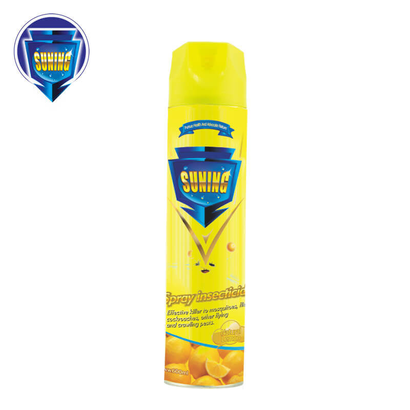 Insecticide Spray Natural Lemon 600ml SUNING