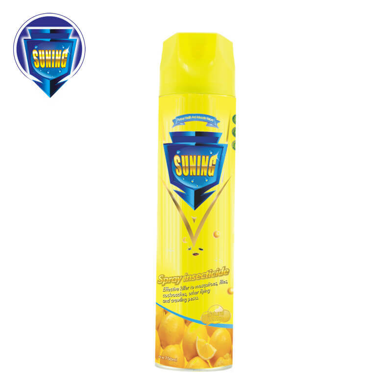 Insecticide Spray Natural Lemon 750ml SUNING