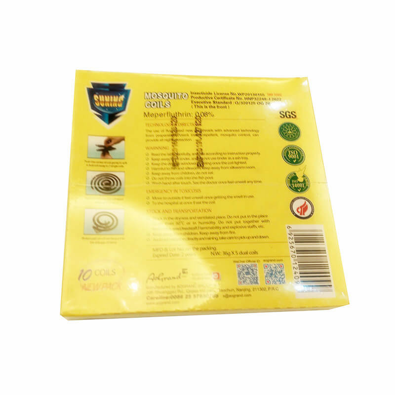 Micro-Smoke Mosquito Coil Char-Bamboo Osmanthus B 140mm SUNING
