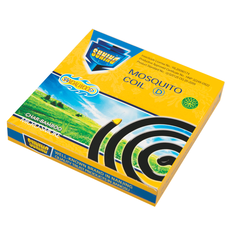 Non-Smoke Mosquito Coil Char-Bamboo Daisy A 140mm SUNING