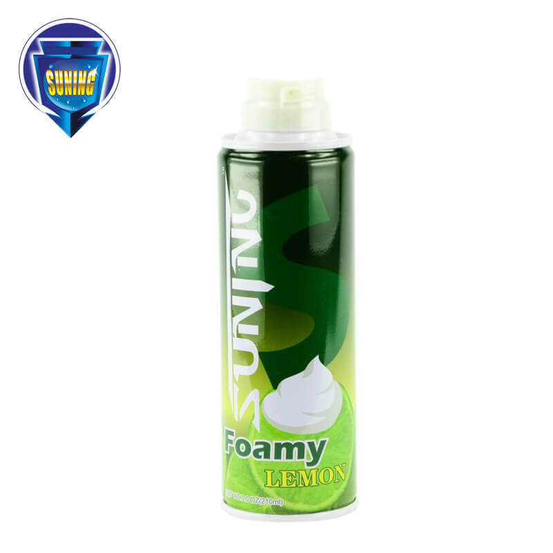 Shaving Foam & Gel Lemon 210ml SUNING