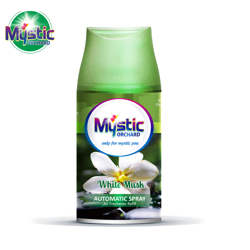 Air Freshener Refill White Musk Scents 250ml MYSTIC ORCHARD